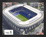 1art1 Fußball Mini-Poster und MDF-Rahmen - Real Madrid