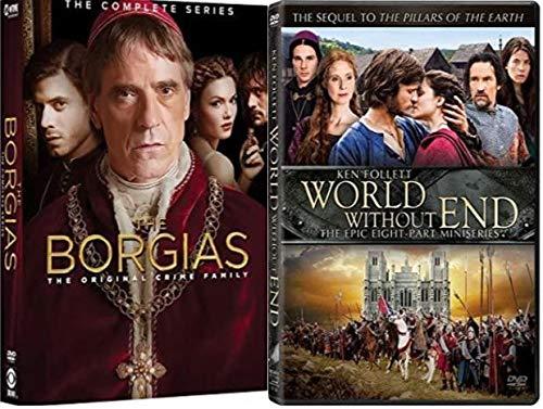 Borgias: The Complete Series 1 ,2 & 3 / Ken Follett's World Without End
