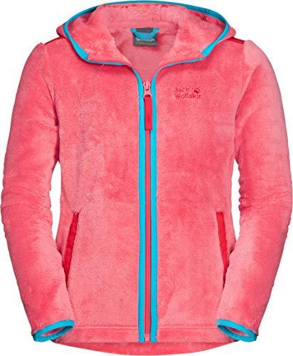 Jack Wolfskin Kinder Nepali Jacket Kids Fleecejacke, Coral pink, 104
