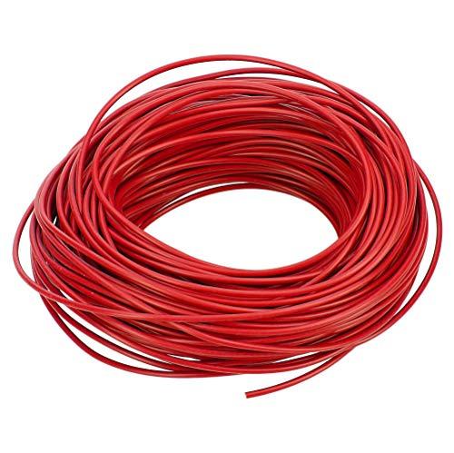 10 Meter Fahrzeugleitung FLRY-B 0,75 mm² rot I KFZ-Kabel I Kabel für KFZ-Elektrik