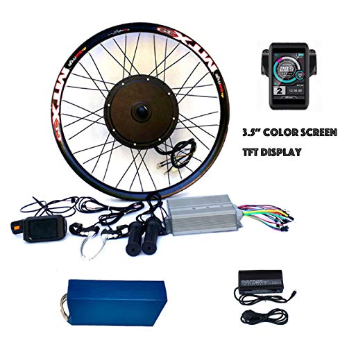 Best Buy! theebikemotor 3.2 TFT LCD+3000W Hi Speed Electric MTB Bicycle E Bike Hub Motor Conversion...