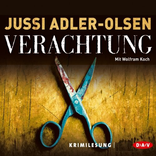Verachtung (Carl Mørck 4) audiobook cover art