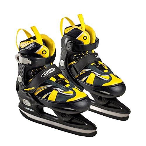 Kinder Schlittschuhe sportlich Freizeit von HY Sport Größe: 29-32 Farbe: Gelb-Schwarz