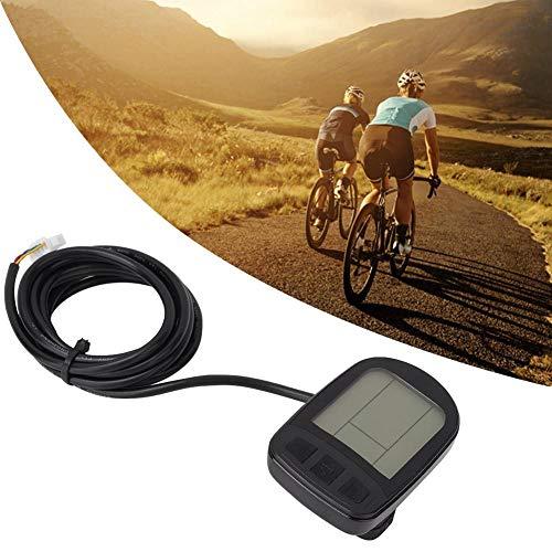 Jacksking E-Bike Display, E-Bike LCD5 Mountain Bike Display Panel para Accesorios de Bicicletas eléctricas, LCD5 Panel Display