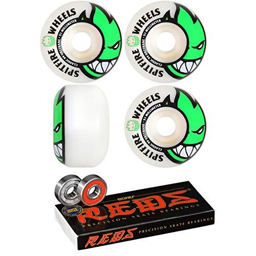 Spitfire Skateboard Wheels 53mm Bighead with Bones Reds Bearings