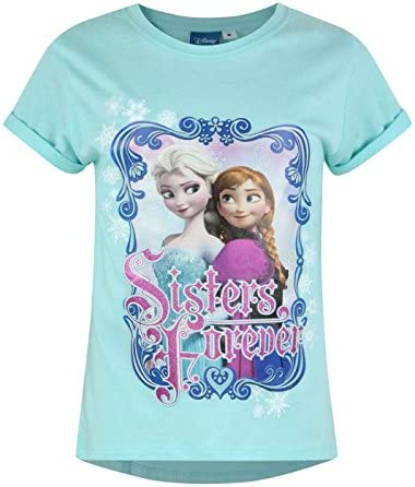 Official Frozen Sisters Girl's T-Shirt