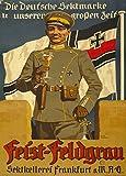 Vintage-Glanzposter Erster Weltkrieg 1914-18, 250g/m²,