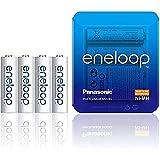 Panasonic ENELOOP R6/AA Pilas recargables, 1900 MAH, 4 piezas, Sliding Pack