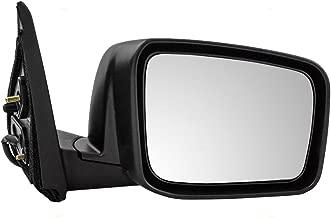 Passengers Power Side View Mirror Heated Replacement for Nissan Rogue & Rogue Select 96301-JM200 AutoAndArt