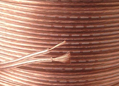 50 m calidad 2 x 20 AWG lote cobre sin oxígeno Cable