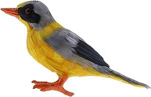 Homyl Artificiale Uccello Martin Pescatore Statua Scultura Tassidermia Realistica Decor Ghirlande Rame Alberi Multicolore