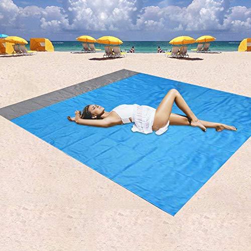 Homened Sand Free Beach Blanket, Waterproof Blanket Mat Sand Proof Outdoor...