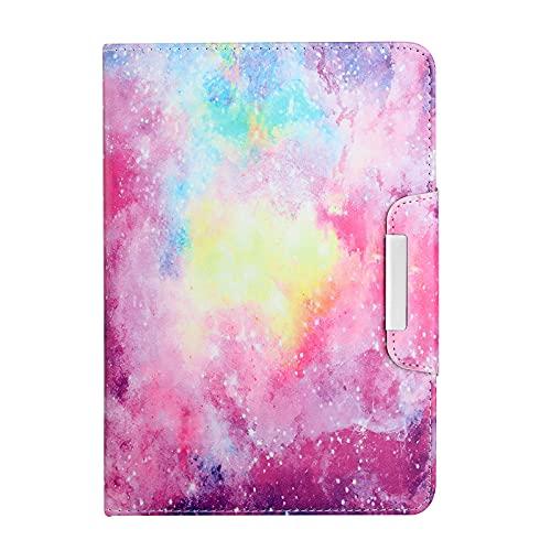 JIan Ying Funda para tablet universal ALL 7 pulgadas Slim ligero protector cubierta cielo estrellado