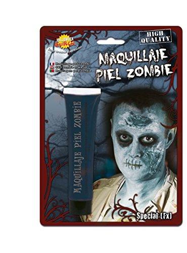 Maquillaje piel zombie 28