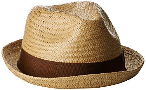 BRIXTON Castor Fedora Headwear, Line, XS