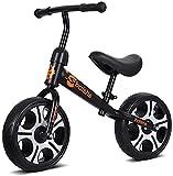 Bicicleta para Niños y Niñas Equilibrio bici - bicicleta de entrenamiento del niño durante 18 Meses, 2, 3, 4 y 6 años for niños - Ultra Cool Colors empuje las bicis for niños pequeños / n Pedal Vespa