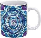 Tazza da caffè Boho Psichedelico Tie Dye Fantasy Design Holiday Coffee Mug