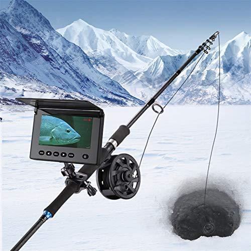 EWQK Portátil Pesca bajo el Agua Finder Cámara de Pesca Pesca de Hielo Cámara de visión Nocturna de 4.3 Pulgadas Monitor LCD Monitor de Deportes bajo el Agua para Pesca al Aire Libre