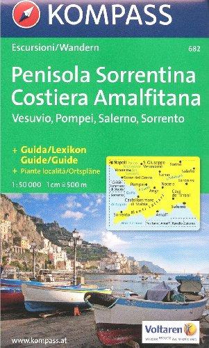 Carte et guide de randonnée - Sorrente