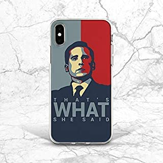 That's What She Said Pop Art Back Cover Case For Phone 5 5s SE iPhone 6 6s 7 8 Plus X Xs Max XR