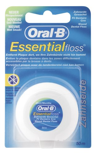 Oral-B Essential Zahnseide Minze, 50 m, 12er Pack