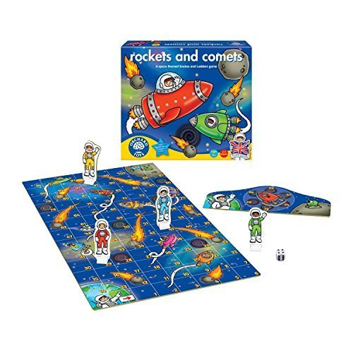 Rockets & Comets Board Game by Orchard Toys