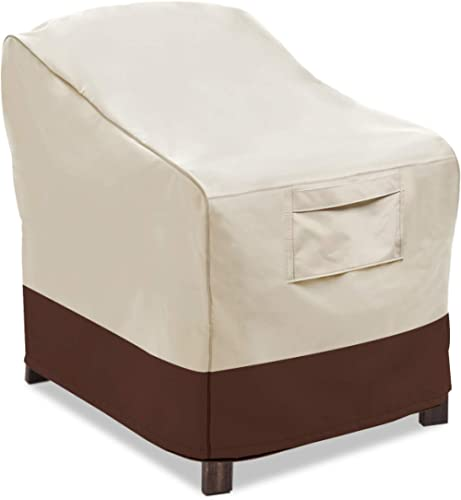 Vailge Patio Chair Covers, Lounge Deep Seat Cover, Heavy Duty and Waterproof Outdoor Lawn Patio Furniture Covers, Med...