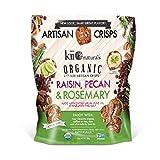 Kii Naturals Pecan Raisin Bite Size Crisps, 4.3 Pound