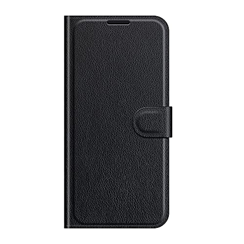ZL ONE - Carcasa compatible con Xiaomi Redmi Note 5A / Note 5A Prime Flip PU Cuero Magnético Protector Bumper Case Cover (Negro)