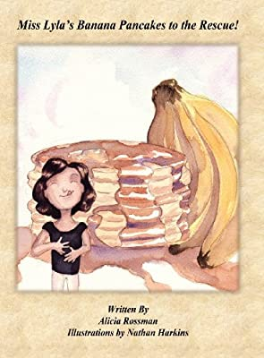 Miss Lyla's Banana Pancakes to the Rescue!