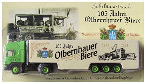 Stadtbrauerei Olbernhau Nr.07 - 105 Jahre Olbernhauer Biere - Scania - Sattelzug