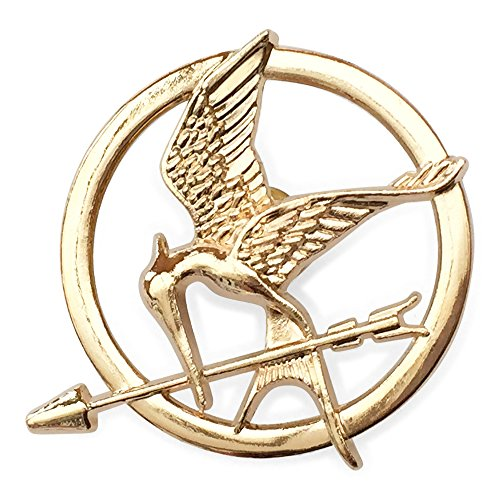 Orion Creations Hunger Games Katniss Mockingjay Gold ton Brosche/Pin
