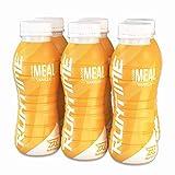 Runtime Liquid Meal - Vanilla | Vollwertiger Mahlzeitersatz, lange Sättigung & Leistungsfähigkeit | 23 Vitamine & Mineralien | 6 x 330ml