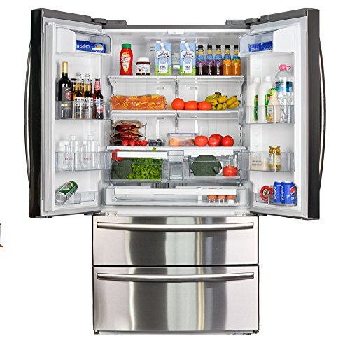commercial Smad French Door Refrigerator 20.7cc Ft. Large refrigerator with home freezer … bottom freezer refrigerator