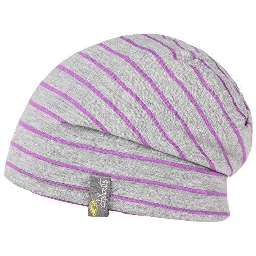 Bonnet Lagos Oversize Beanie Chillouts long beanie bonnet indoor (taille unique - lilas)