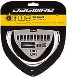 Jagwire - Kit di guaina e cavi per deragliatore Sport Shift per adulti, unisex, colore: Bianco, Taglia unica