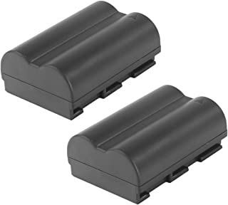 BP-511 Battery Bonadget 2200mAh BP-511a Replacement Battery Compatible with Canon Rebel EOS 5D 40D 20D 50D 10D 30D 300D D30 D60 PowerShot G6 G5 G3 G2 G1(2 Pack)