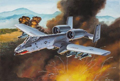 Revell 06597 - Easykit Steckbausatz - A-10 Thunderbolt II, Maßstab 1:100