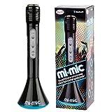 Mi-Mic Kinder Karaoke-Mikrofon, Lautsprecher mit kabellosem Bluetooth und LED-Lichtern -