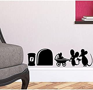 "Apioffer Agujero de ratón""Familia de ratón rodapié"