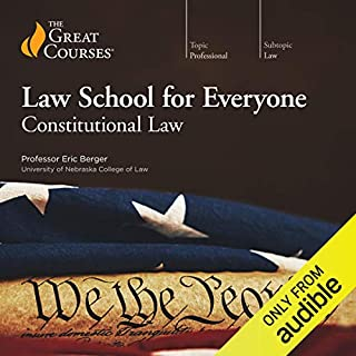 Law School for Everyone: Constitutional Law audiobook cover art