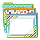 Color Me Bright File Folders