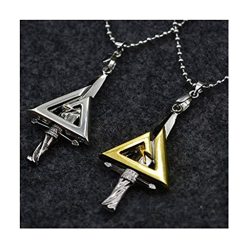 JXS Réplica de los Logotipos de Las Fuerzas Especiales del Delta de los Estados Unidos, el Collar de los Hombres, Incluido el Oro y la Plata.