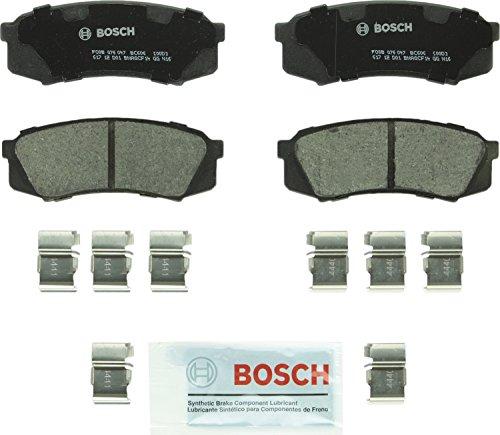 Bosch BC606 QuietCast Premium Ceramic Rear Disc Brake Pad Set For Lexus: 2010-17 GX460, 2003-09 GX470, 1996-97 LX450; Toyota: 2003-17 4Runner, 2007-14 FJ Cruiser, 1993-97 Land Cruiser, 2001-07 Sequoia