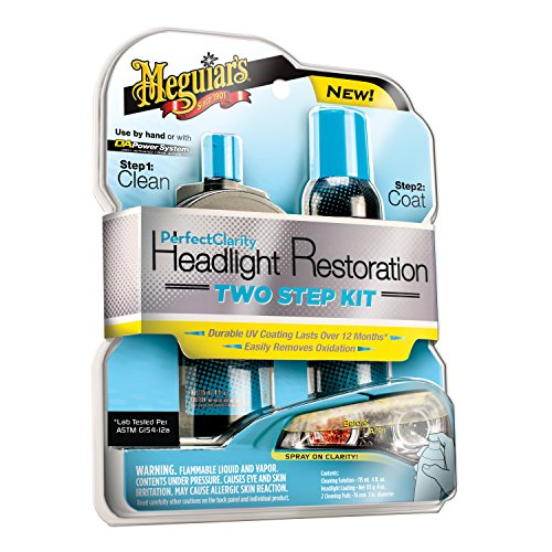 Meguiar's G2000 Perfect Clarity Two Step Headlight Restoration Kit