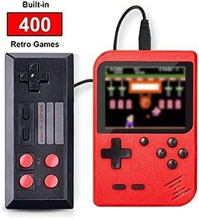 comprar comparacion SeeKool Consola de Juegos Portátil, 3 Pulgadas 400 Consolas de Juegos de Mano Retro FC, Recargable Game Player Consola de ...