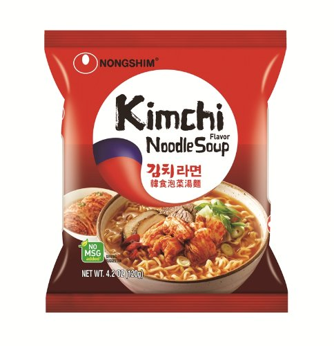 NongShim Kimchi Noodle Ramyun, 4.2 Ounce Packages (Pack of 20)