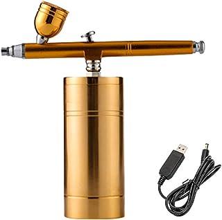 HXZB Multi-Function Airbrush Set, Pompe Rechargeable Mini Compresseur d'air Portable Kit pour Le Maquillage, Décoration De...