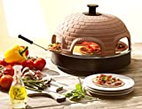 "Pizzarette – ""The World's Funnest Pizza Oven"" – 6 Person Model - Countertop Pizza Oven –..."