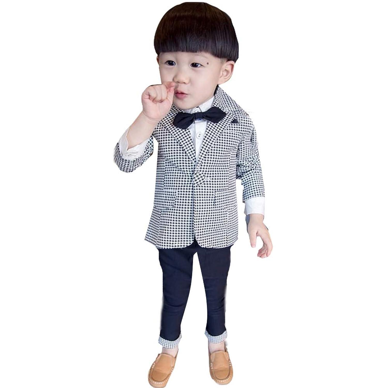 「TongYi ドウゲイ」フォーマル スーツ ベスト シャツ ズボン キッズ 男の子 長袖 セットアップ 子供服 ボーイズ 結婚式 発表会 七五三 入園式 入学式 卒業式 お受験